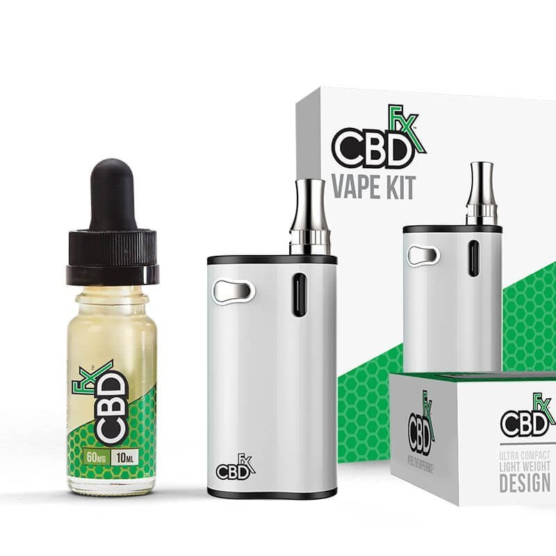 CBDfx CBD- Vape Kit Hemp Additive Oil 60mg