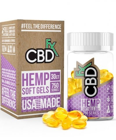 CBD Oil Pills - 750 mg