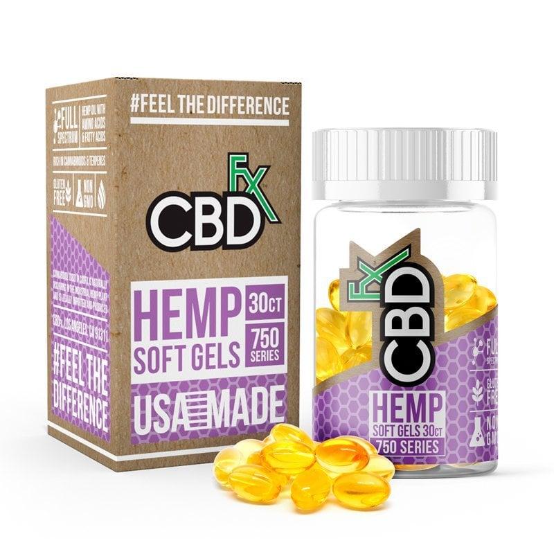 CBD Oil Pills - 750 mg