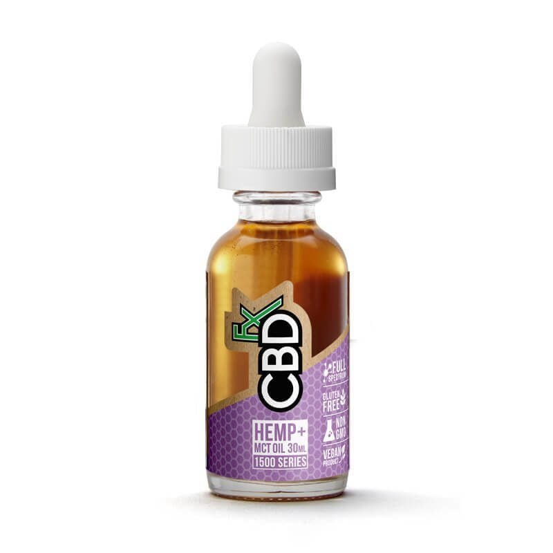 CBDfx CBD Sublingual Drop 1500mg