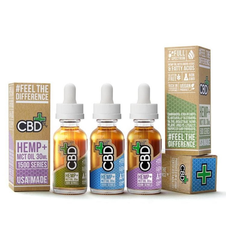 CBD Oil Tincture Bundle Pack