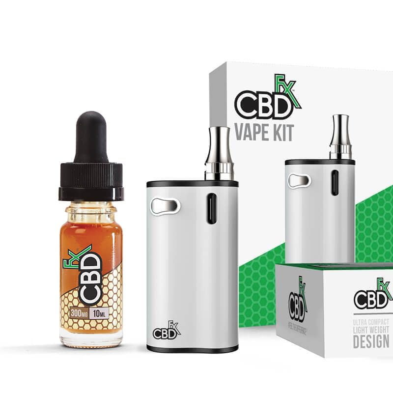 CBD Bundle: CBD Vape Oil 300mg + CBD Vape Kit
