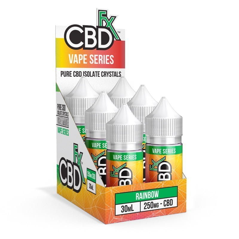 CBD Vape Juice - Rainbow Candy (6 Pack)