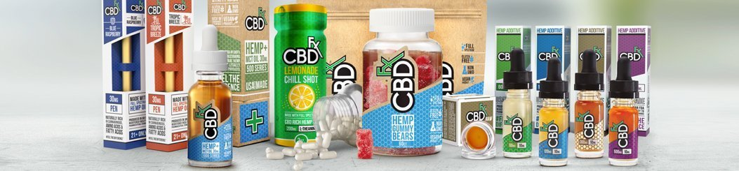 All CBDfx Brand CBD products