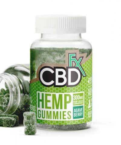 CBDfx Gummies with Spirulina and Turmeric
