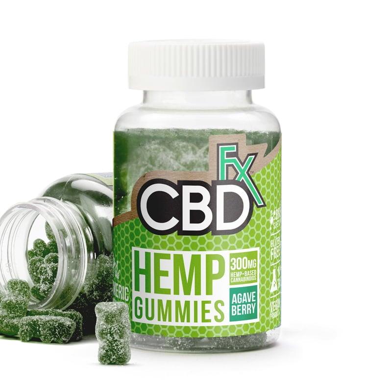 CBDfx Gummies with Spirulina and Turmeric