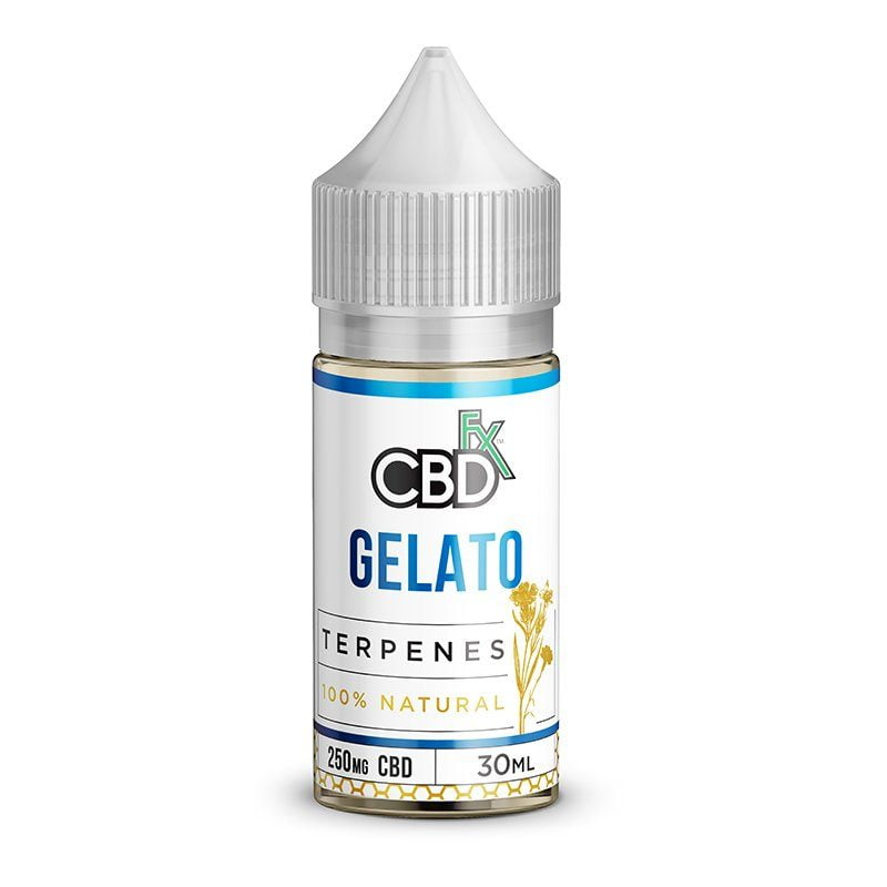 CBD Oil with Terpenes - Gelato