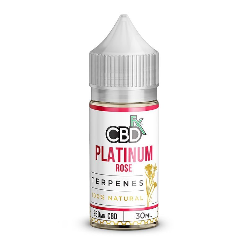 CBD Oil with Terpenes - Platinum Rose