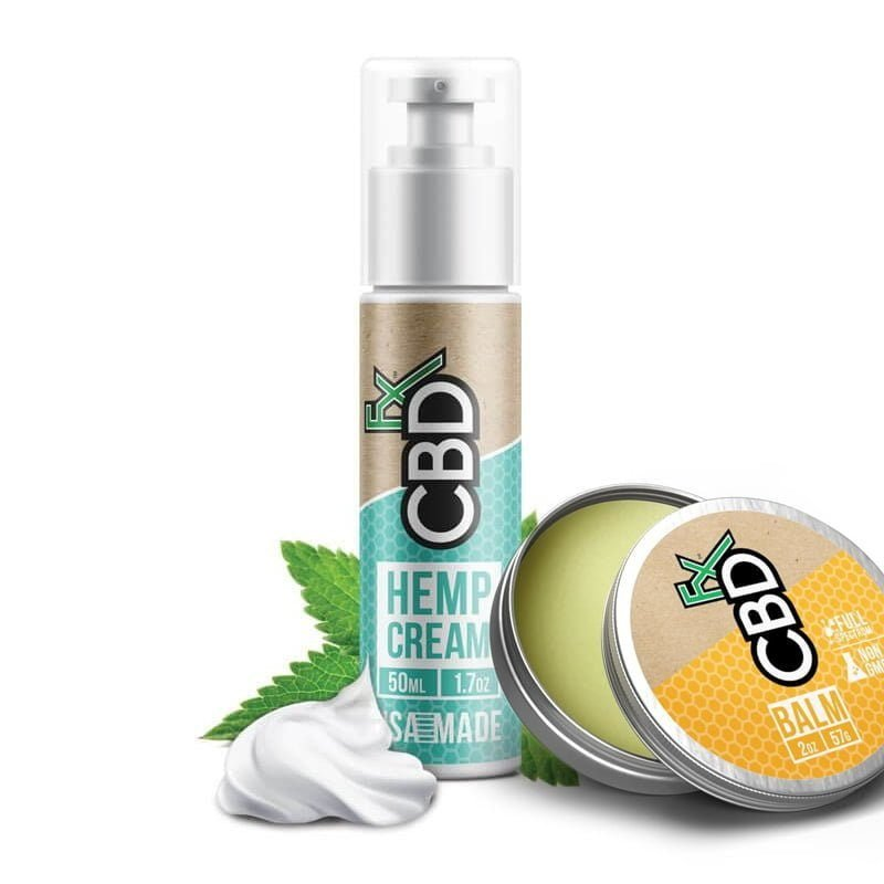 CBD Topicals: Lotion & Balm