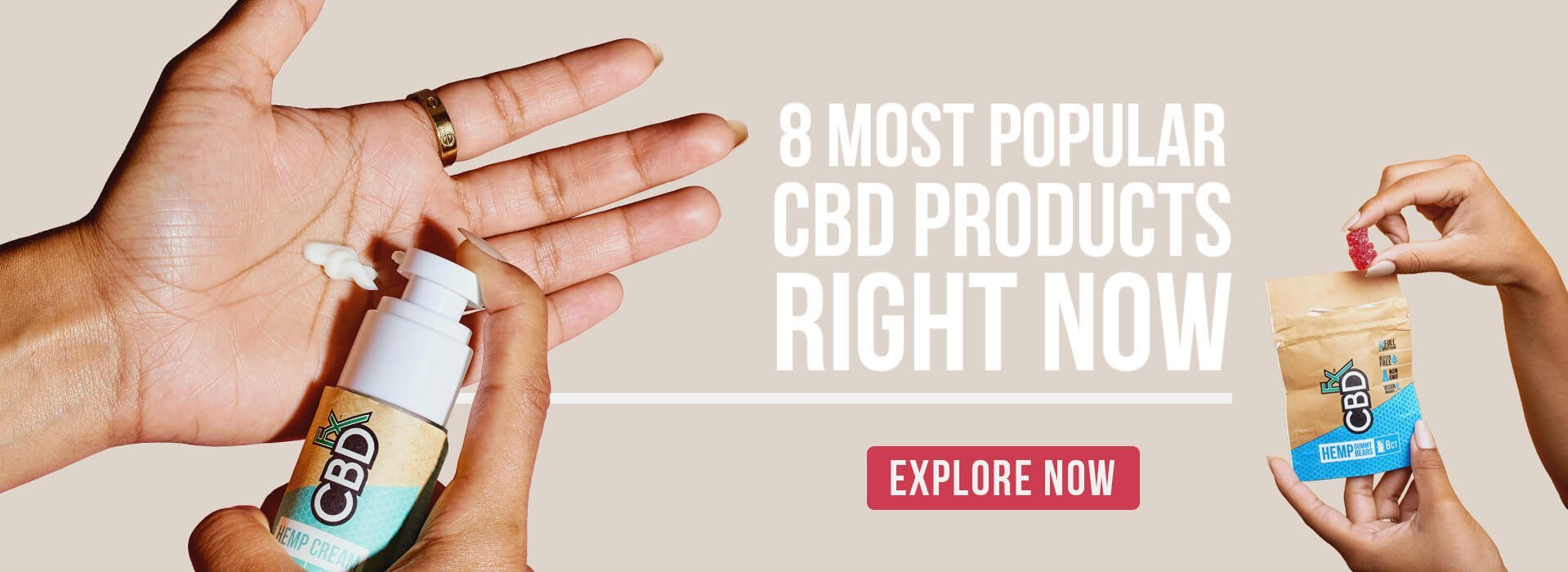 CBDfx 8 most popular cbd products right now