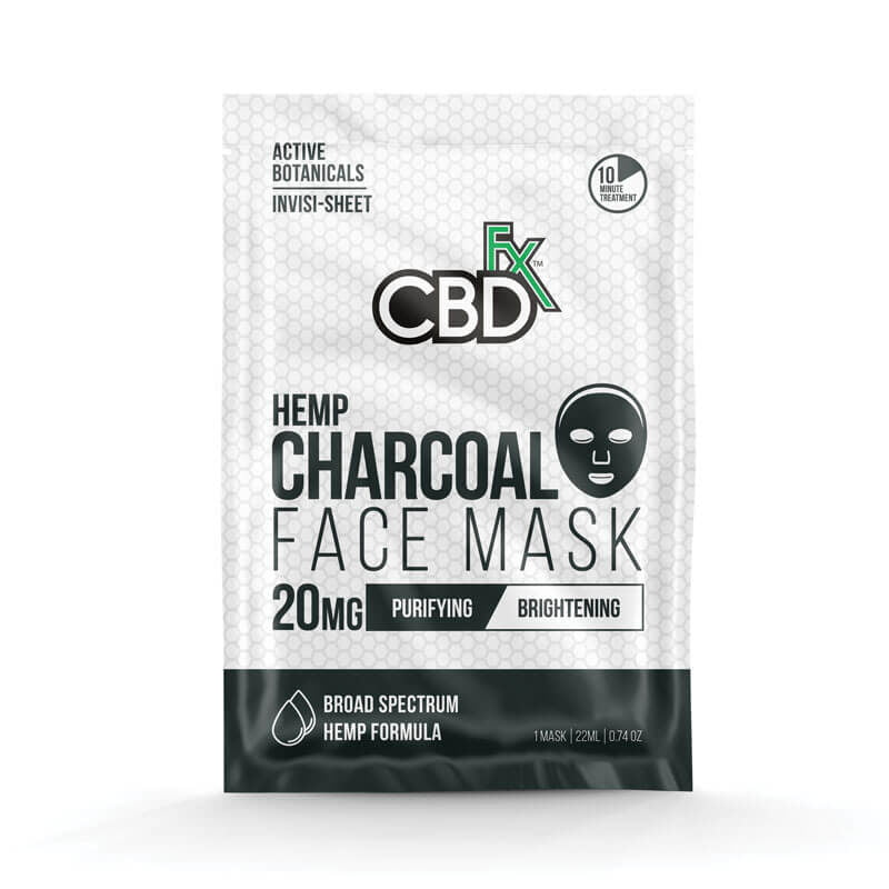 CBD charcoal face mask - 20mg