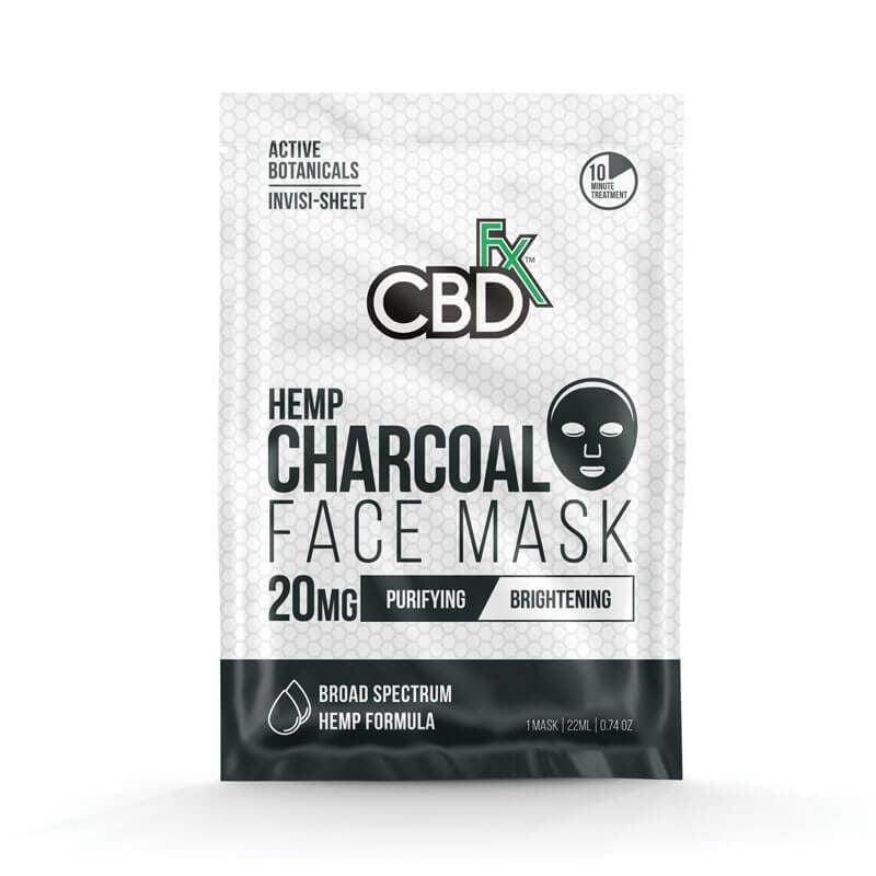 CBD charcoal face mask - 20mg