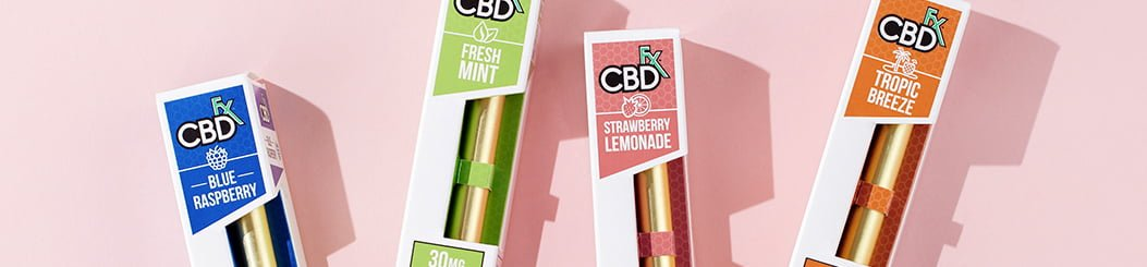CBDfx CBD Pen Vape Juice Disposable