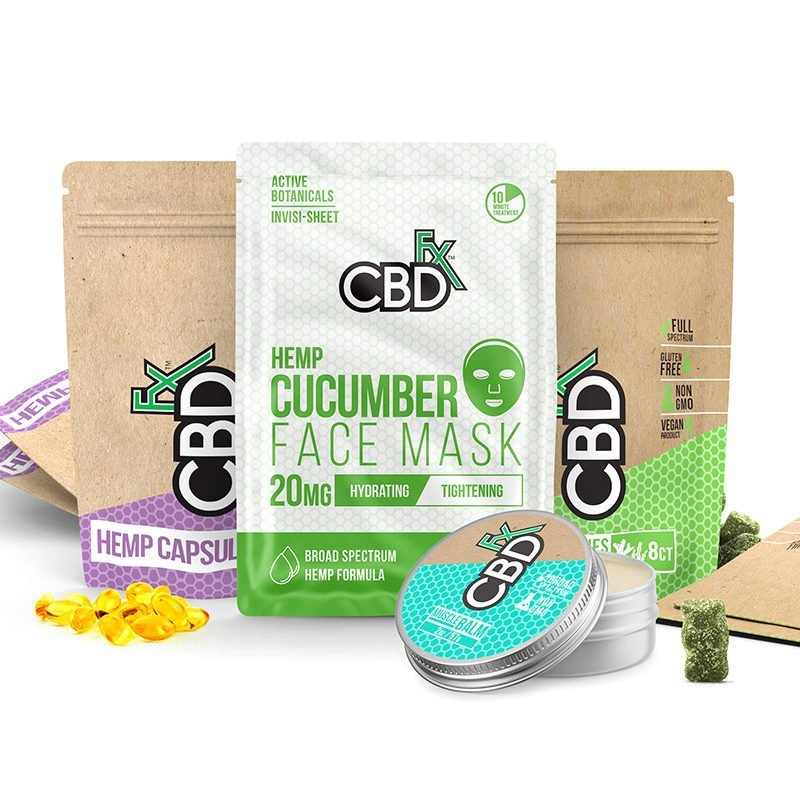 Jet Pack - CBDfx CBD Travel Set