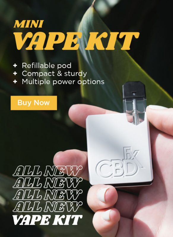 cbdfx cbd vape kit pod ceramic juice oil device
