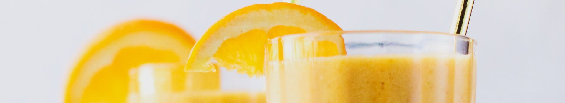 CBD Infused Orange Creamsicle Smoothie