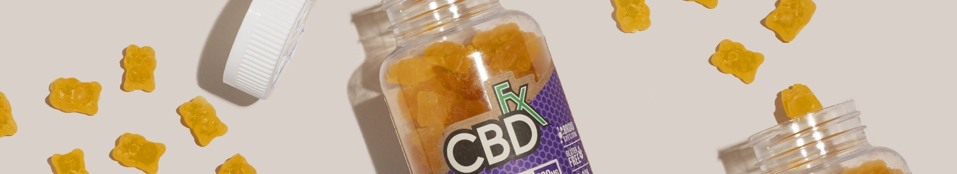 Organic CBDfx Gummies Come in 3 Delicious Flavors