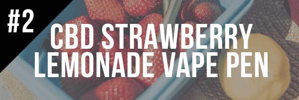 CBD Strawberry Lemonade Vape Pen