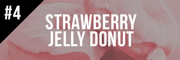 #4, Strawberry Jelly Donut