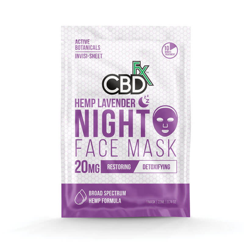 Lavender CBD Face Mask 20mg