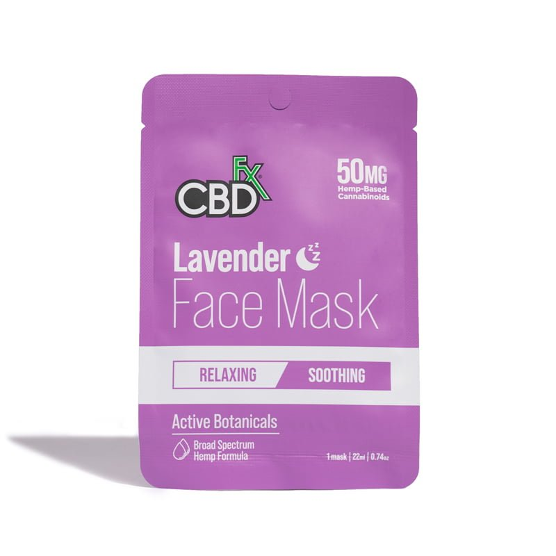 Lavender CBD Face Mask 50mg