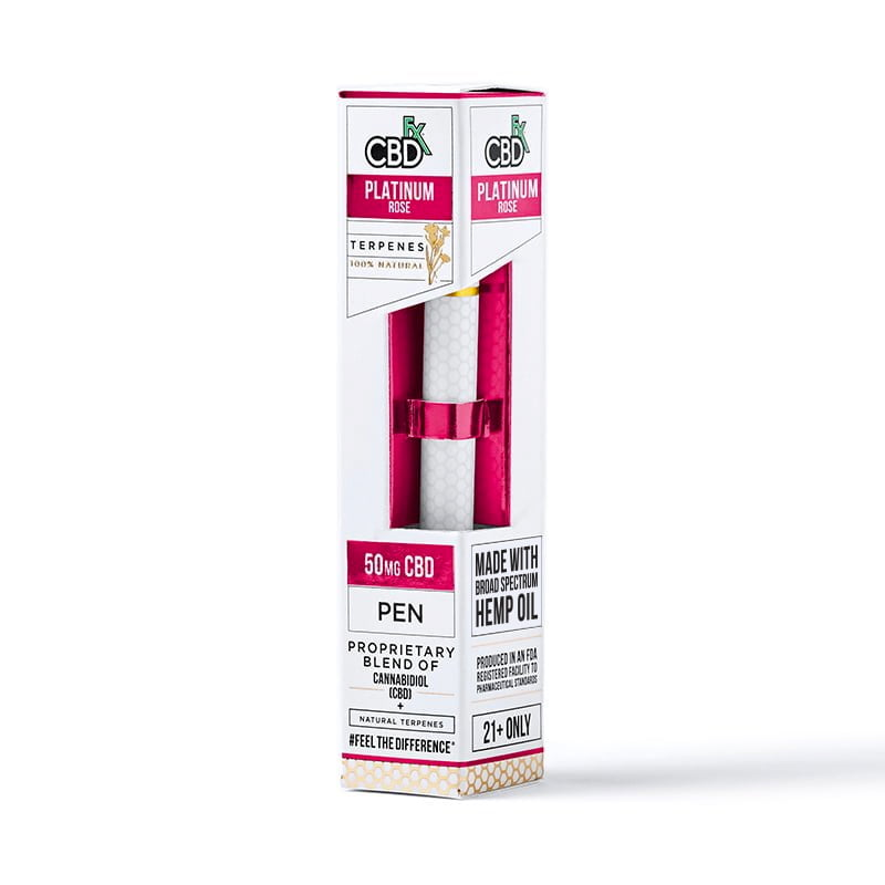 Lab Reports for Platinum Rose CBD Terpenes Vape Pen