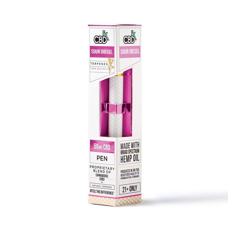 Lab Reports for Sour Diesel CBD Terpenes Vape Pen