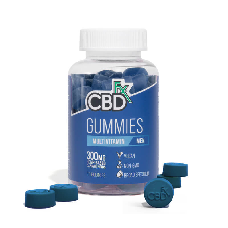 Lab Reports for CBD Gummies with  Multivitamin For Men