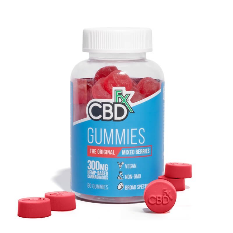 Cbdfx Gummies The Original Mixed Berry