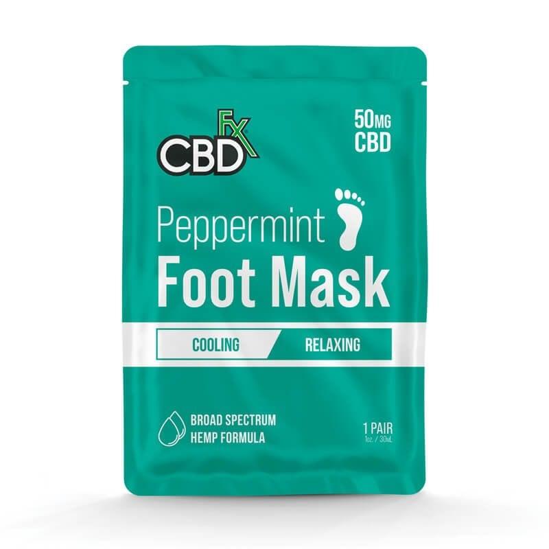 Hemp Peppermint Foot Mask