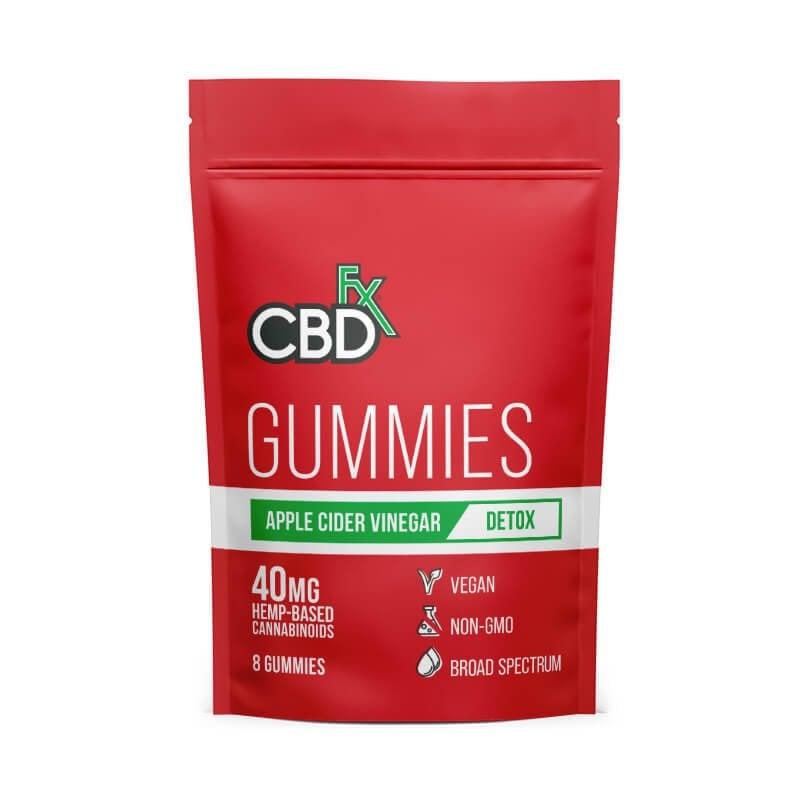 Apple Cider Vinegar CBD Gummies - 40mg Pouch