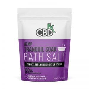 bath salt tranquil