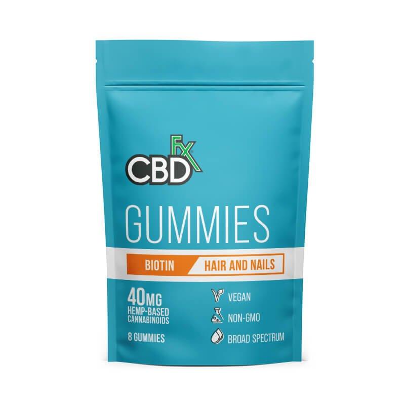 CBD Gummies with Biotin - 40mg Pouch