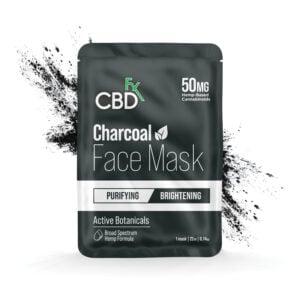 cbdfx facemask charcoal 50mg profile