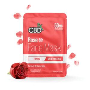 cbdfx facemask rose 50mg profile