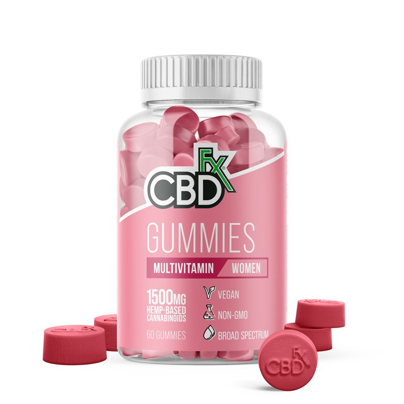 CBDfx CBD Gummies with Multivitamins for Women