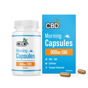cbdfx morning capsules mg