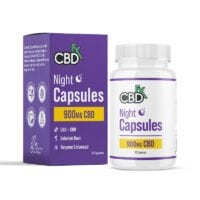 cbdfx night capsules