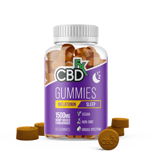 cbdfx sleep gummies melatonin homepage transparent