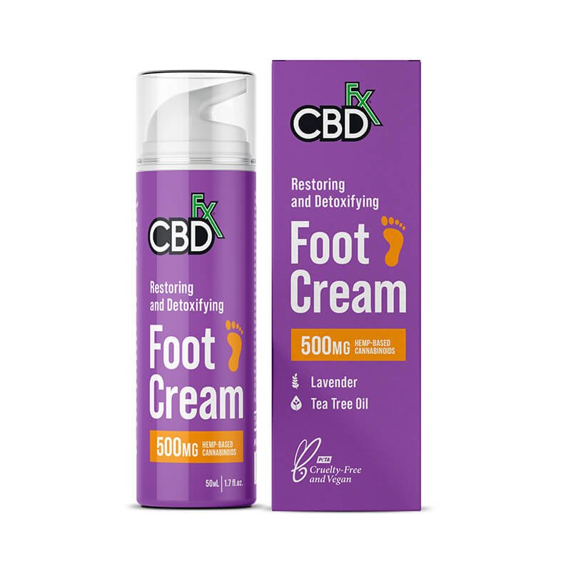 Hemp Lavender Foot Cream