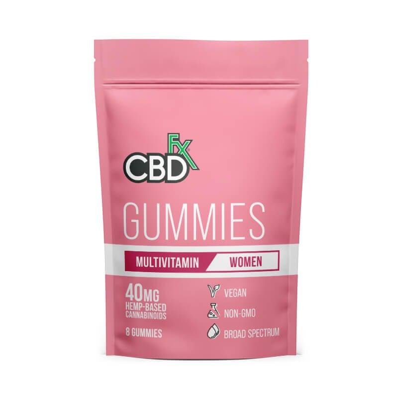 Womans MV CBD Gummies - 40mg Pouch