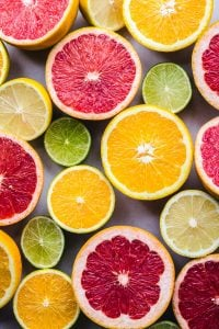 Grapefruit and other citrus fruits