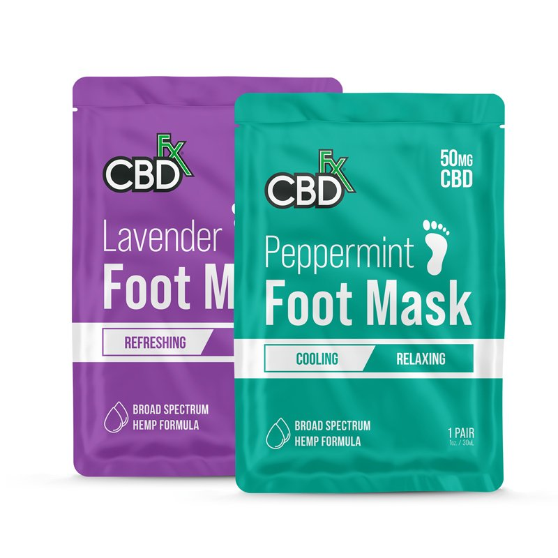 cbdfx foot mask bundle
