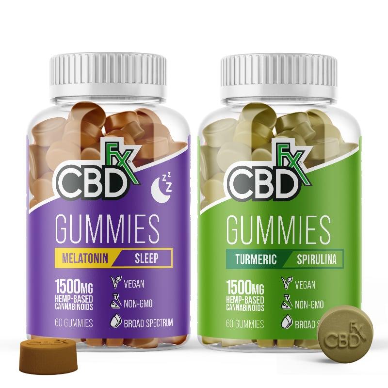 CBDfx Day & Night CBD Gummy Set