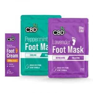 CBDfx footcare set