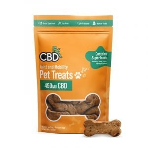 cbdfx pet treats joint mobility
