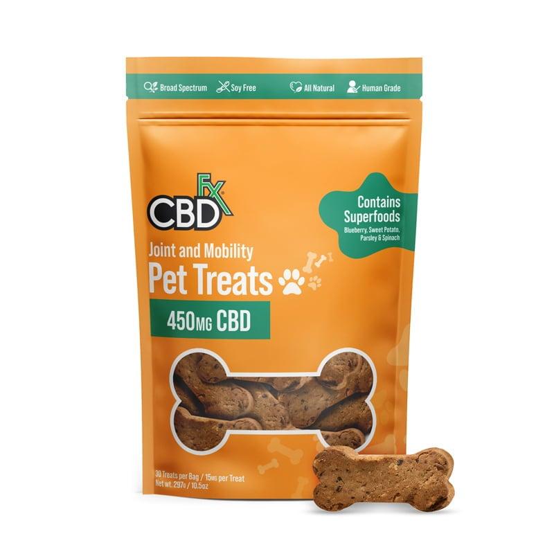 cbdfx pet treats joint mobility
