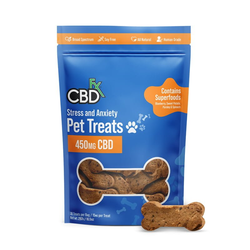 CBD Pet Treats for Stress & Anxiety